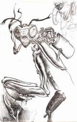 mantis warrior by mantisprime
