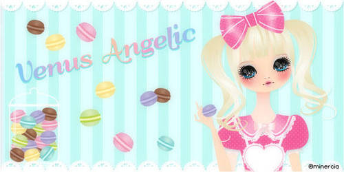 Venus Angelic Sweets Banner by minercia