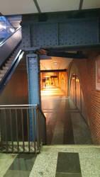 Jannowitz Bridge station interior by tilianus