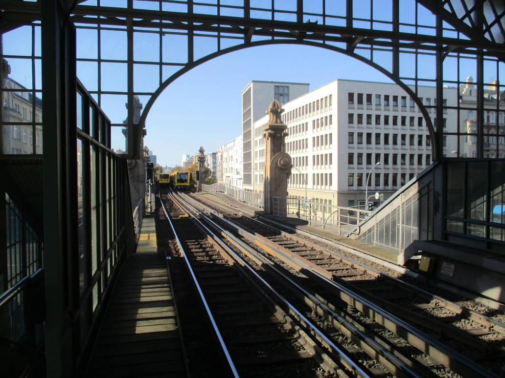 Buelowstr. Station Platfom View by tilianus