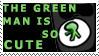 Green.Man Stamp by sweetangel by DenoriiFanClub