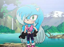 Stella the hedgehog Fake Sonic X screenshot by Stellathehedgehog1