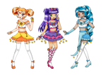 [Request] Celestial Pretty Cure! by sekaiichihappy by chiyako92