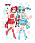 [Request] Gemini Precure by JumbotheElephant232 by chiyako92