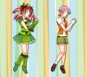 Pretty Cure Season Light :: Cure Cherrytree by chiyako92