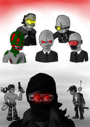 MC - Evil Looks by einhajar12