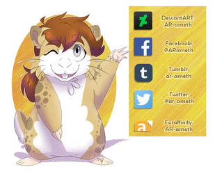 My Social Links! (added some) by AR-ameth