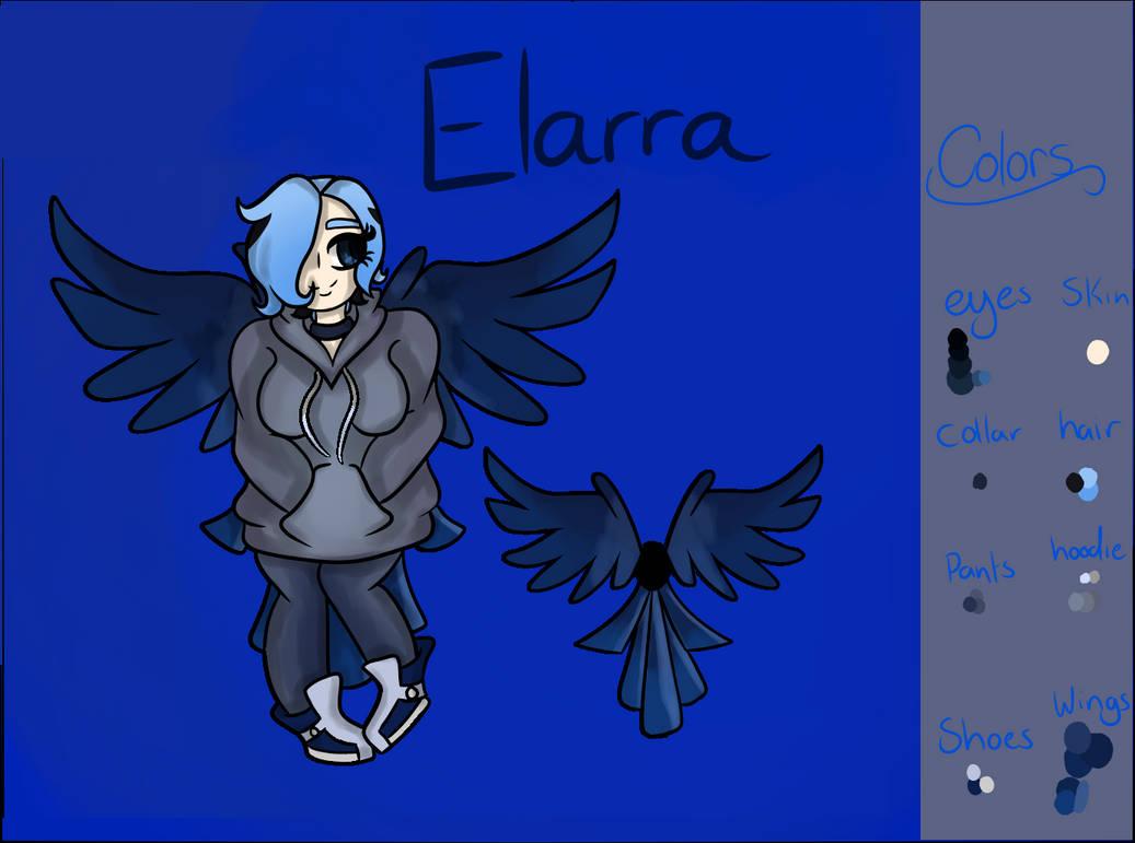 Elarra Ref Sheet by BlueJK