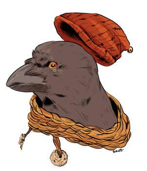 Crow Kid by Papercut-Cranes