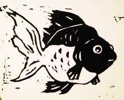Goldfish by Papercut-Cranes