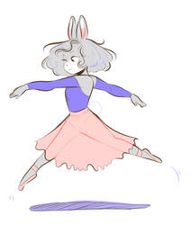A Dancer At Heart by Papercut-Cranes