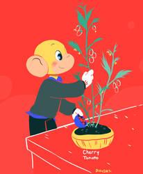 Cherry Tomato by Papercut-Cranes
