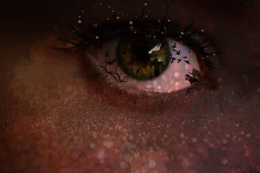 Crow Eye by Reddawgi