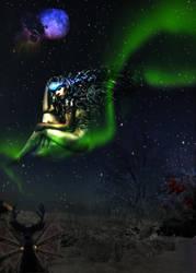 Steampunk Winter Fairy by Reddawgi