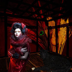 Goth Geisha by Reddawgi