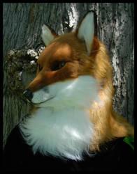 Red Fox Mask by Qarrezel