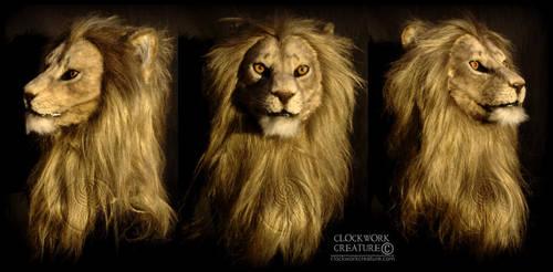 Warrior Lion by Qarrezel