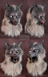Zombie Werewolf by Qarrezel