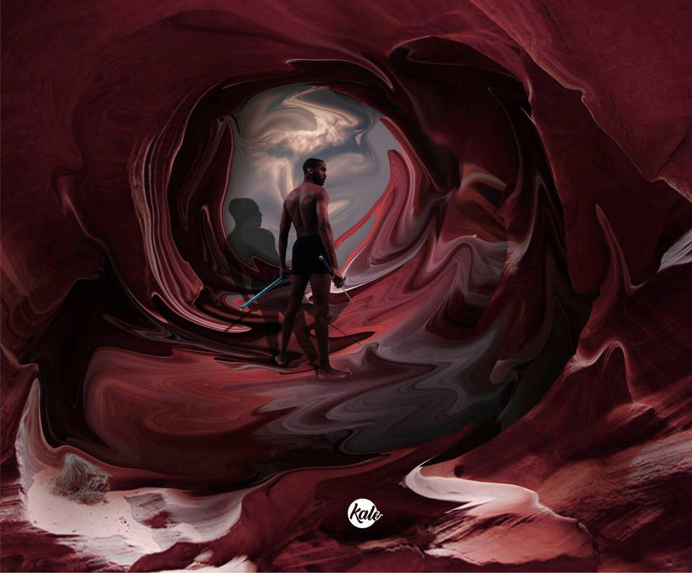 abstract cave by deycallmekale