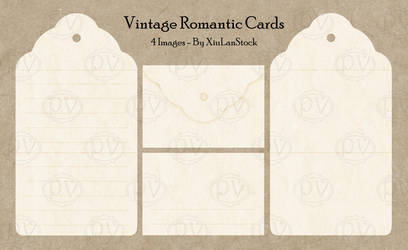 Vintage Romantic Cards - Scrapbooking Pack by XiuLanStock