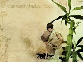 Underneath the bamboo by HyaciaHwaSeon