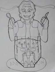voltron: Hunk's Birthday by ninjawilddog