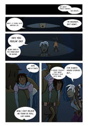 Tr'as la ment comic strip by ninjawilddog