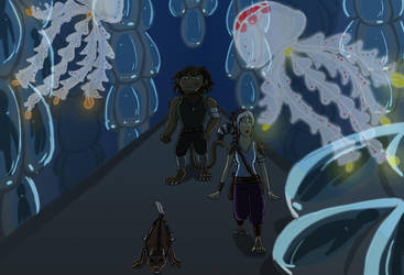 Tr'as La Ment Cyro-room by ninjawilddog