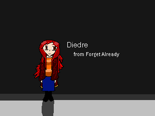 Diedre (OC) from Forget Already (RPGmaker2k3game) by whatami94