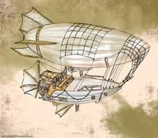 Pirate Airship: Zephyrus by Apeliotus