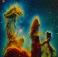 Pillars of Creation by MajaOpacic