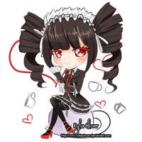 Celes chibi by RyfiaClover
