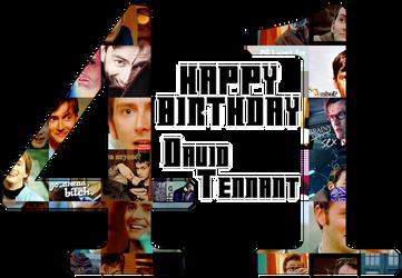 Happy Birthday David Tennant by Unknown-Diva