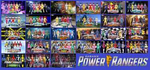 Power Rangers Wallpaper by jakobmiller2000