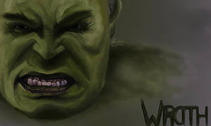 The Hulk by dropeverythingnow