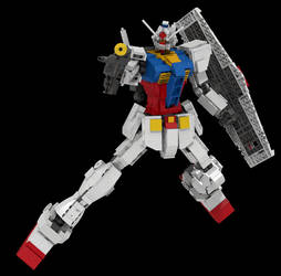 Lego Gundam Version 2 by mithrylaltaire