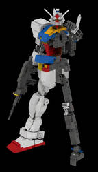 Lego Gundam Version 2: Inner Frame and LLD File by mithrylaltaire