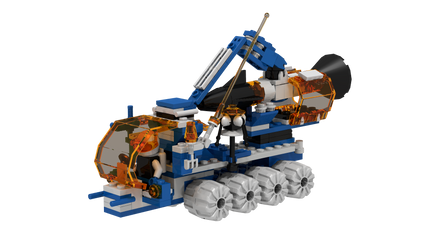 Lego 6898 Ice Sat V by mithrylaltaire