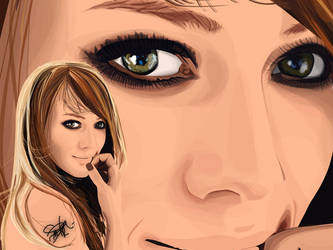 Hilary Duff WIP 2 by BarbaraMoran
