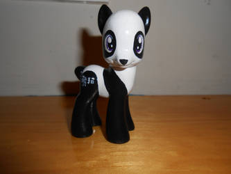 Panda Pony OC by GoEatCheesecake