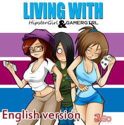 Living with HipsterGirl and GamerGirl (English) by JagoDibuja