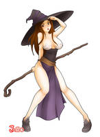 dragons crown sorceress by JagoDibuja