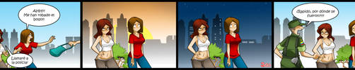Living with Hipstergirl and Gamergirl #124 by JagoDibuja