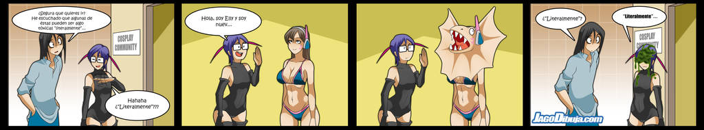 living with hipstergirl and gamergirl 352 by JagoDibuja