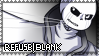 REFUSETale: Blank Stamp by NatsuneNuko