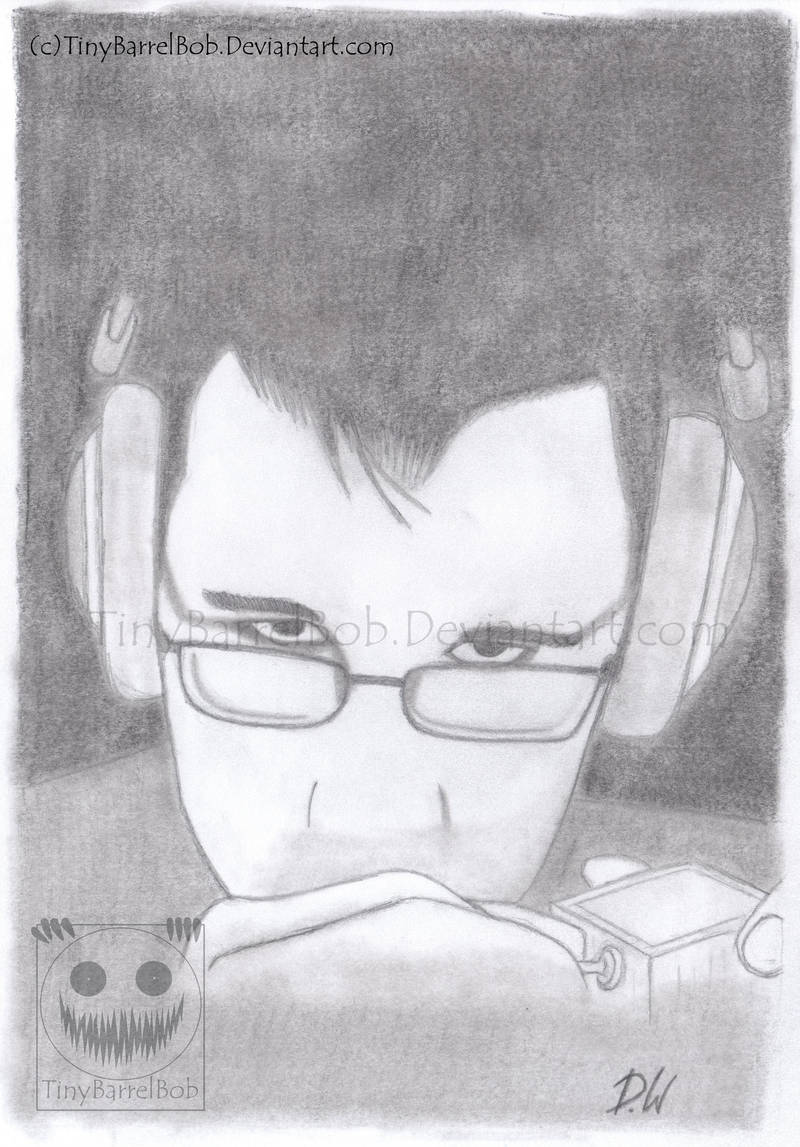 Markiplier from ''the Curse of Blackwater'' by TinyBarrelBob