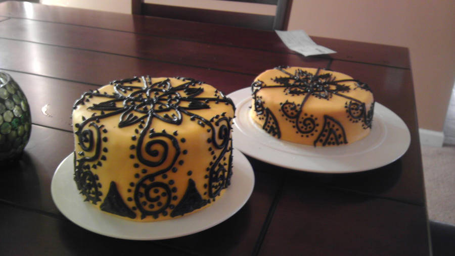Henna Design Cakes 2 By Zahrahbell On Deviantart