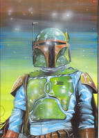 Boba Fett by jlfletch