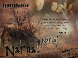 Ruoska - Narua Wallpaper by NuclearRadiation