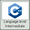 Cpp Lang Intermediate Lvl Stamp by NuclearRadiation